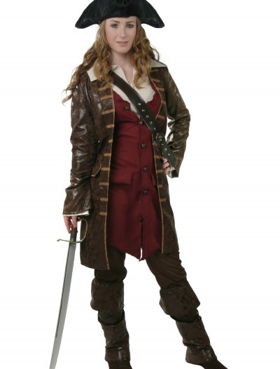 Womens Caribbean Pirate Costume, halloween costume (Womens Caribbean Pirate Costume)