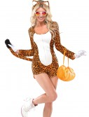 Womens Cheeky Cheetah Costume, halloween costume (Womens Cheeky Cheetah Costume)