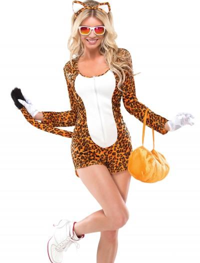 Womens Cheeky Cheetah Costume, halloween costume (Womens Cheeky Cheetah Costume)
