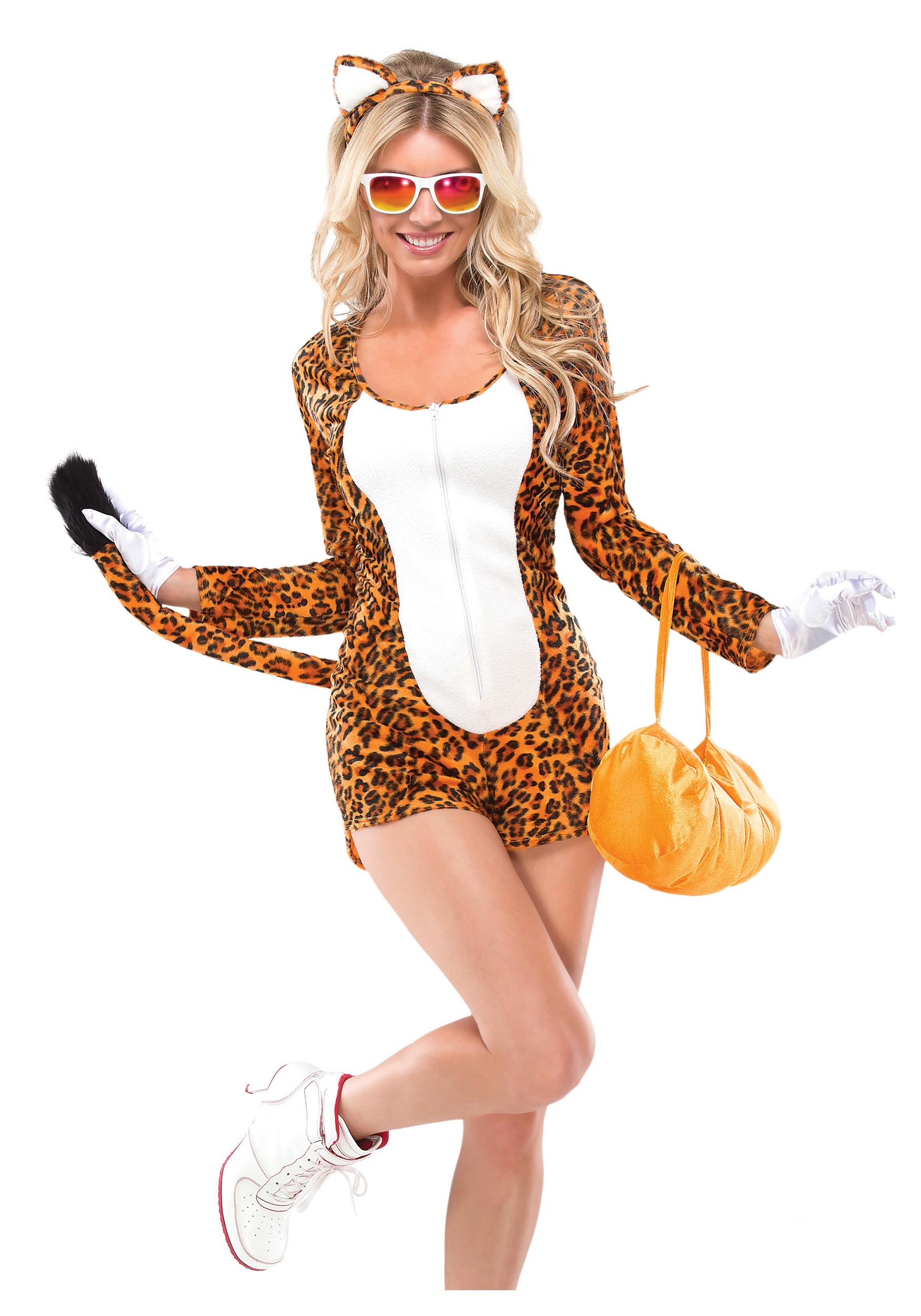 Womens Cheeky Cheetah Costume  sc 1 st  Halloween Costumes & Womens Cheeky Cheetah Costume - Halloween Costumes