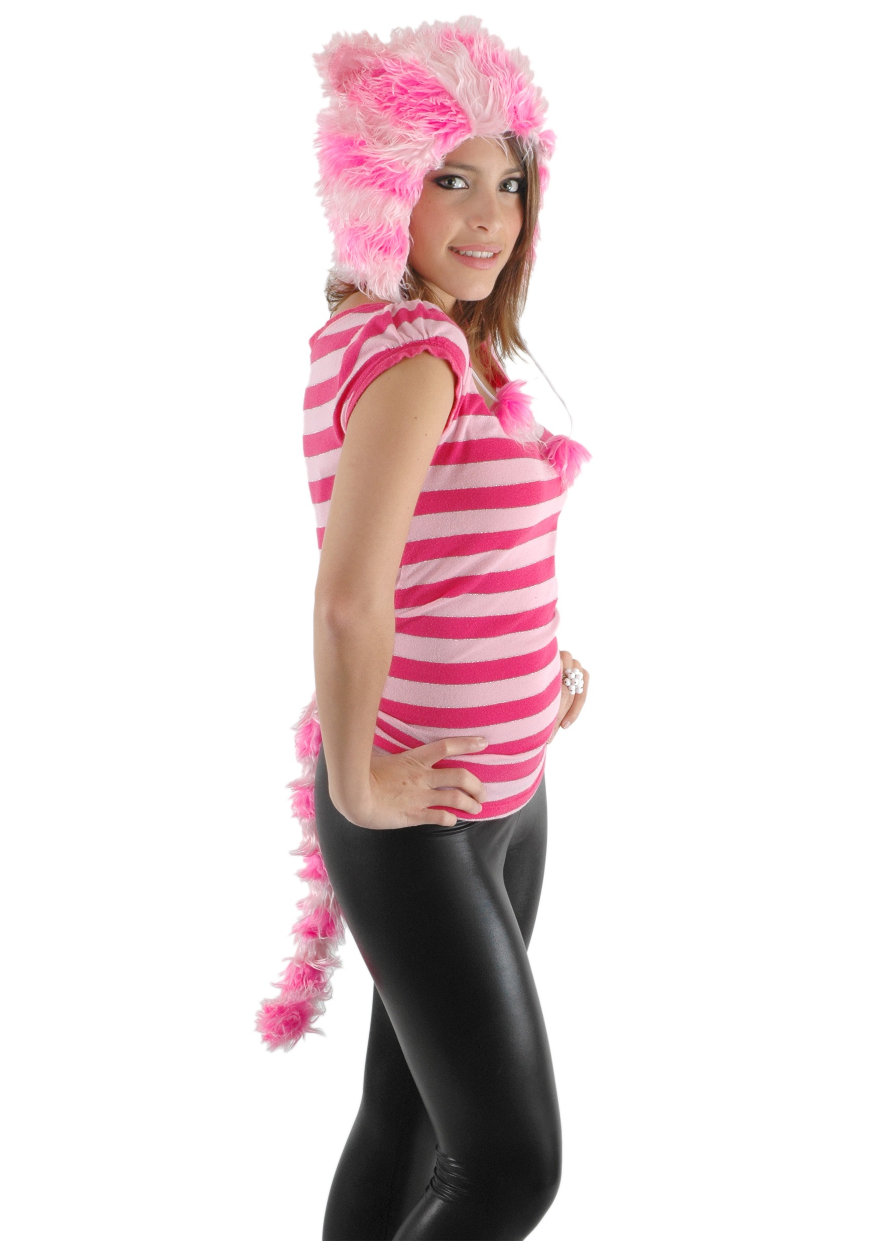 Womens Cheshire Cat Hat and Tail  sc 1 st  Halloween Costumes & Womens Cheshire Cat Hat and Tail - Halloween Costumes