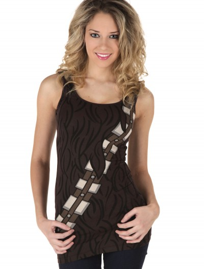 Womens Chewbacca Tank Top, halloween costume (Womens Chewbacca Tank Top)