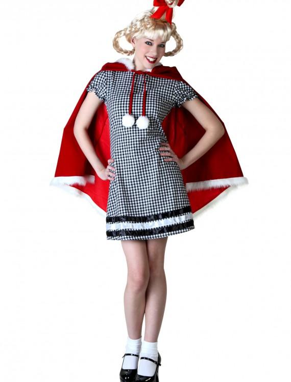 Women's Christmas Girl Costume, halloween costume (Women's Christmas Girl Costume)