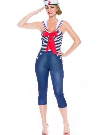 Women's Come Sail Away Costume, halloween costume (Women's Come Sail Away Costume)