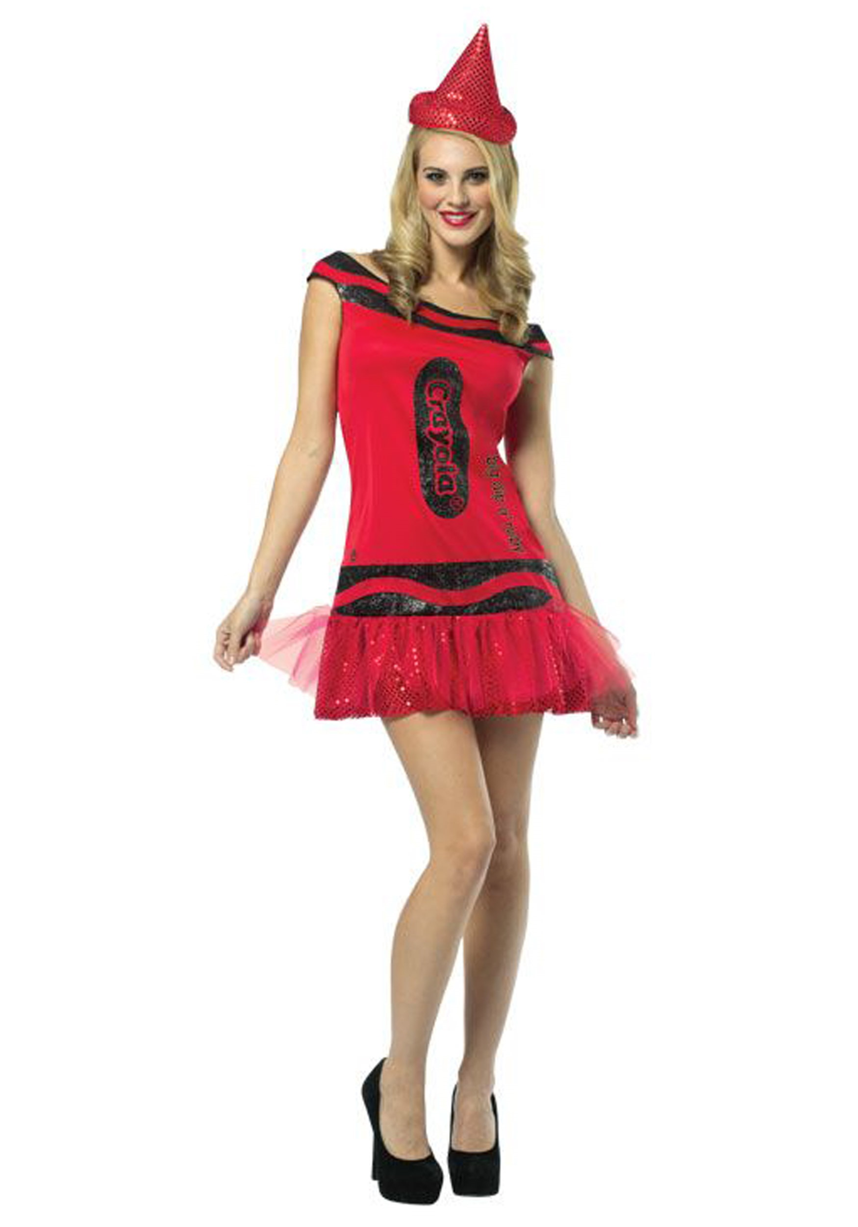 womens crayola glitz ruby dress
