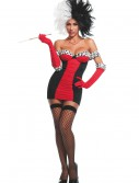 Women's Cruele Lavillian Costume, halloween costume (Women's Cruele Lavillian Costume)