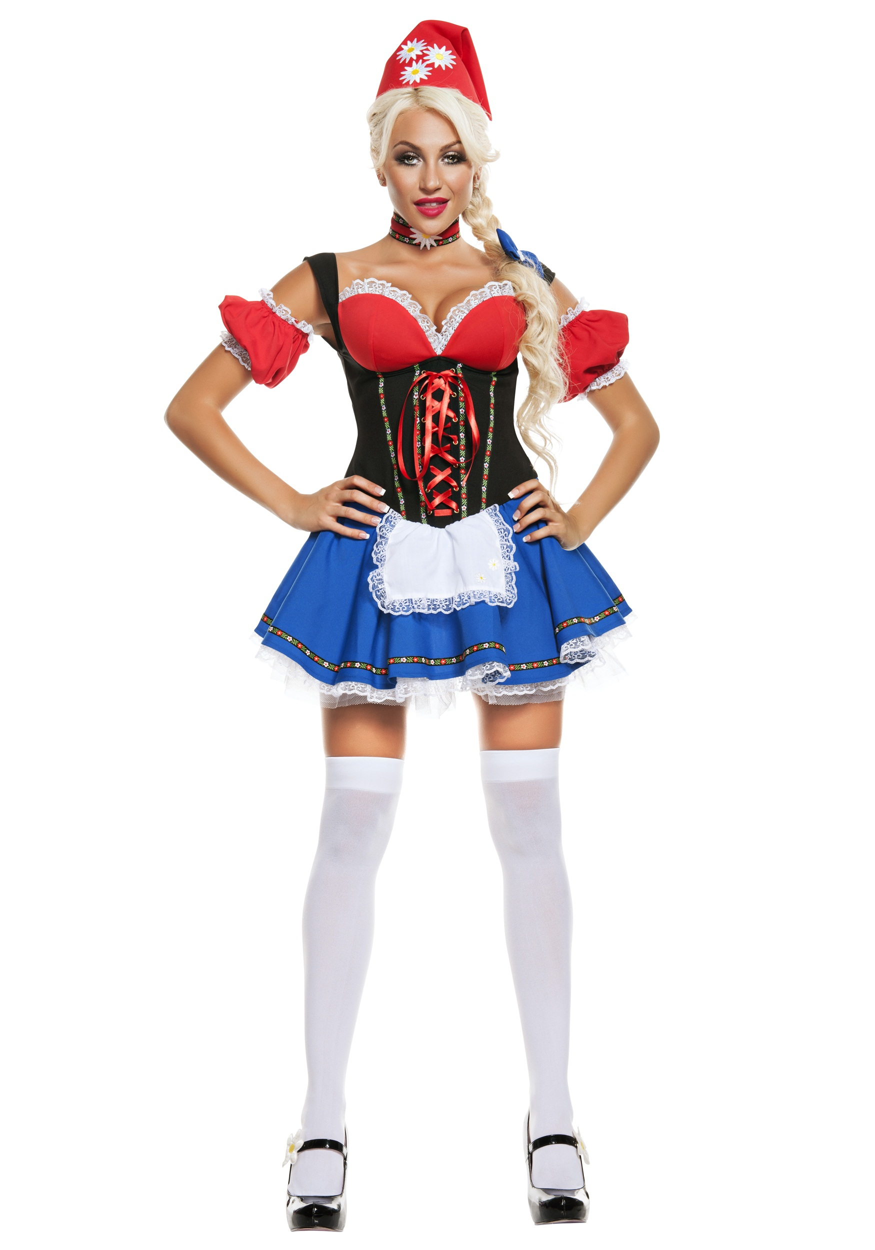 Womenu0027s Daisy Meadow Gnome Costume  sc 1 st  Halloween Costumes & Womenu0027s Daisy Meadow Gnome Costume - Halloween Costumes