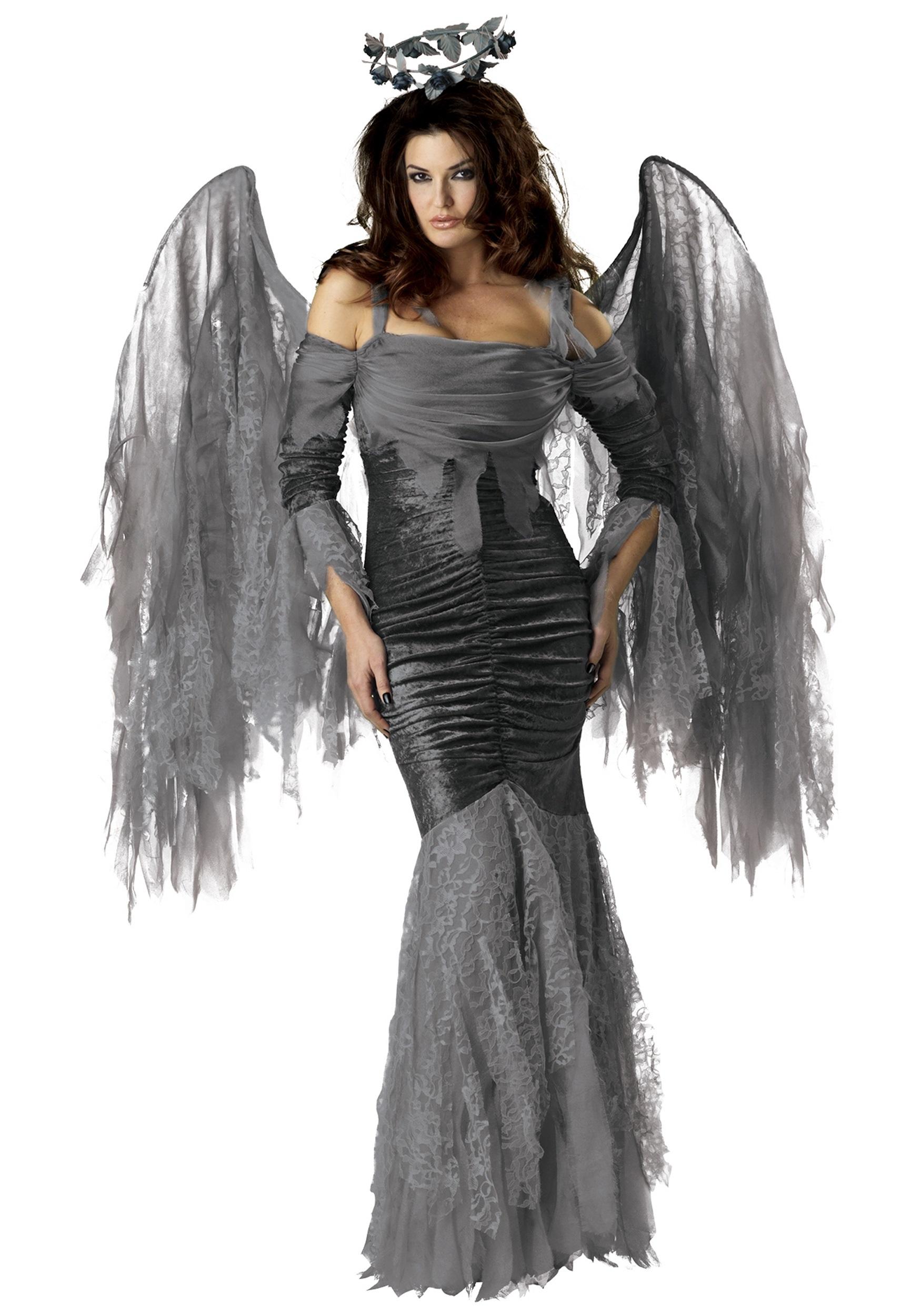 Womens Dark Angel Costume - Halloween Costumes