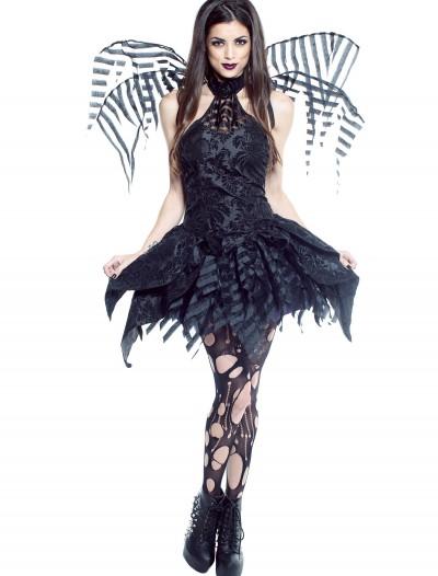 Womens Dark Fairy Costume, halloween costume (Womens Dark Fairy Costume)