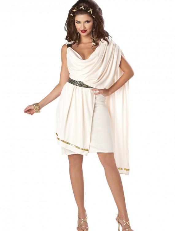 Women's Deluxe Classic Toga Costume, halloween costume (Women's Deluxe Classic Toga Costume)