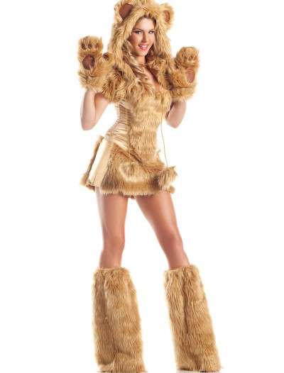Womens Deluxe Golden Bear Costume, halloween costume (Womens Deluxe Golden Bear Costume)