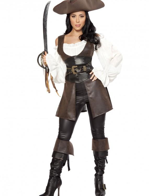 Women's Deluxe Swashbuckler Costume, halloween costume (Women's Deluxe Swashbuckler Costume)