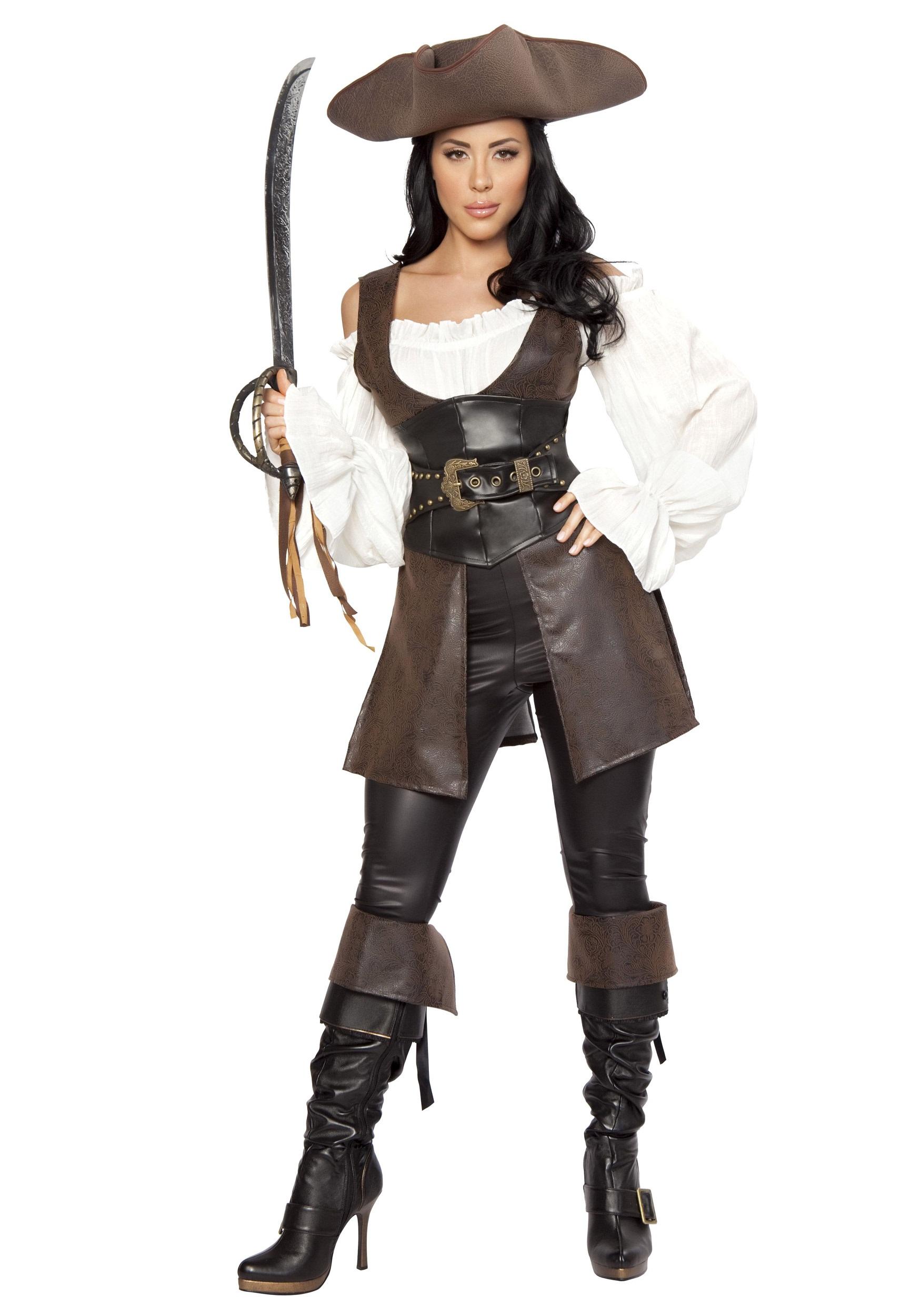 womens deluxe swashbuckler costume