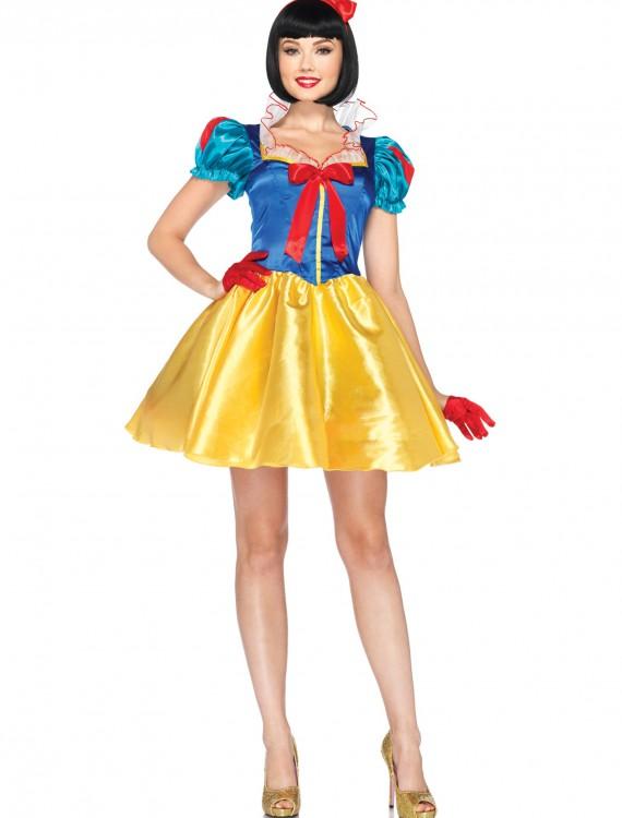 Womens Disney Classic Snow White Costume, halloween costume (Womens Disney Classic Snow White Costume)