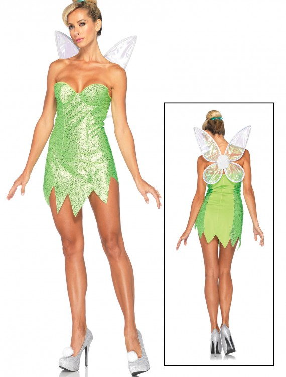 Womens Disney Classic Tink Costume, halloween costume (Womens Disney Classic Tink Costume)