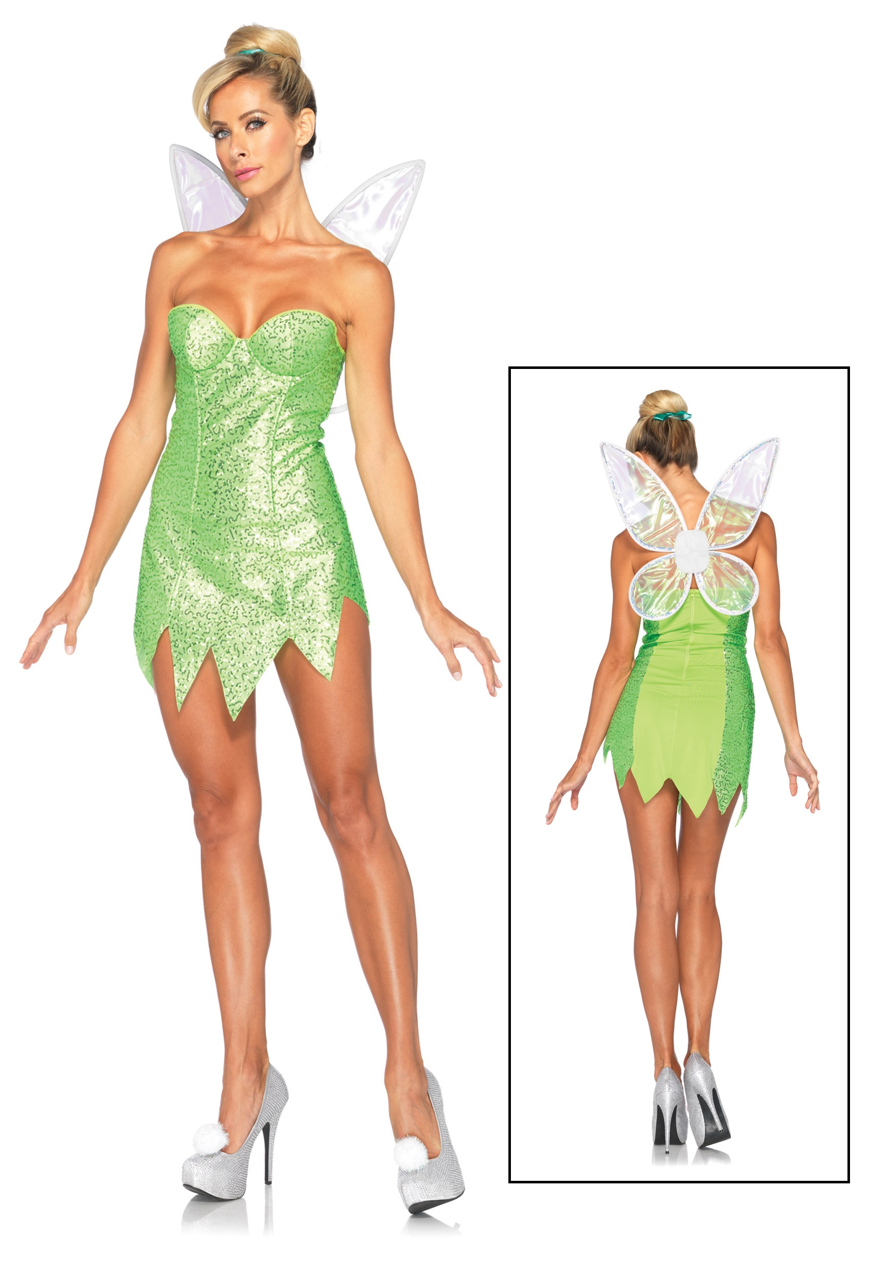 Womens Disney Classic Tink Costume  sc 1 st  Halloween Costumes & Womens Disney Classic Tink Costume - Halloween Costumes