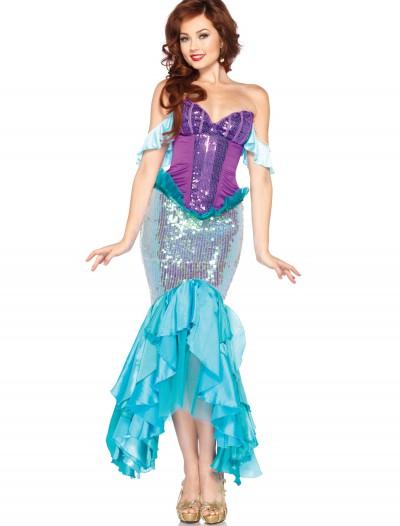 Women's Disney Deluxe Ariel Costume, halloween costume (Women's Disney Deluxe Ariel Costume)