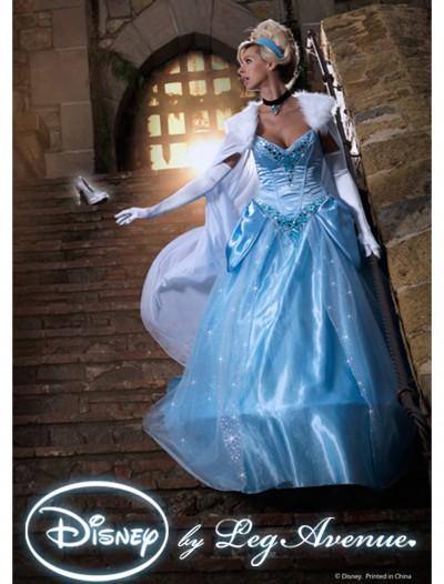 Womens Disney Deluxe Cinderella Costume, halloween costume (Womens Disney Deluxe Cinderella Costume)