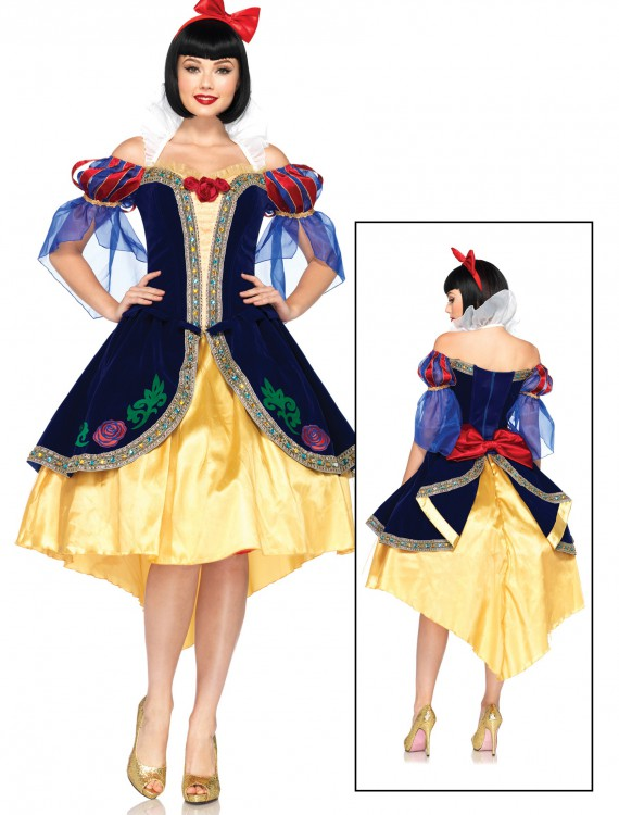 Women's Disney Deluxe Snow White Costume, halloween costume (Women's Disney Deluxe Snow White Costume)