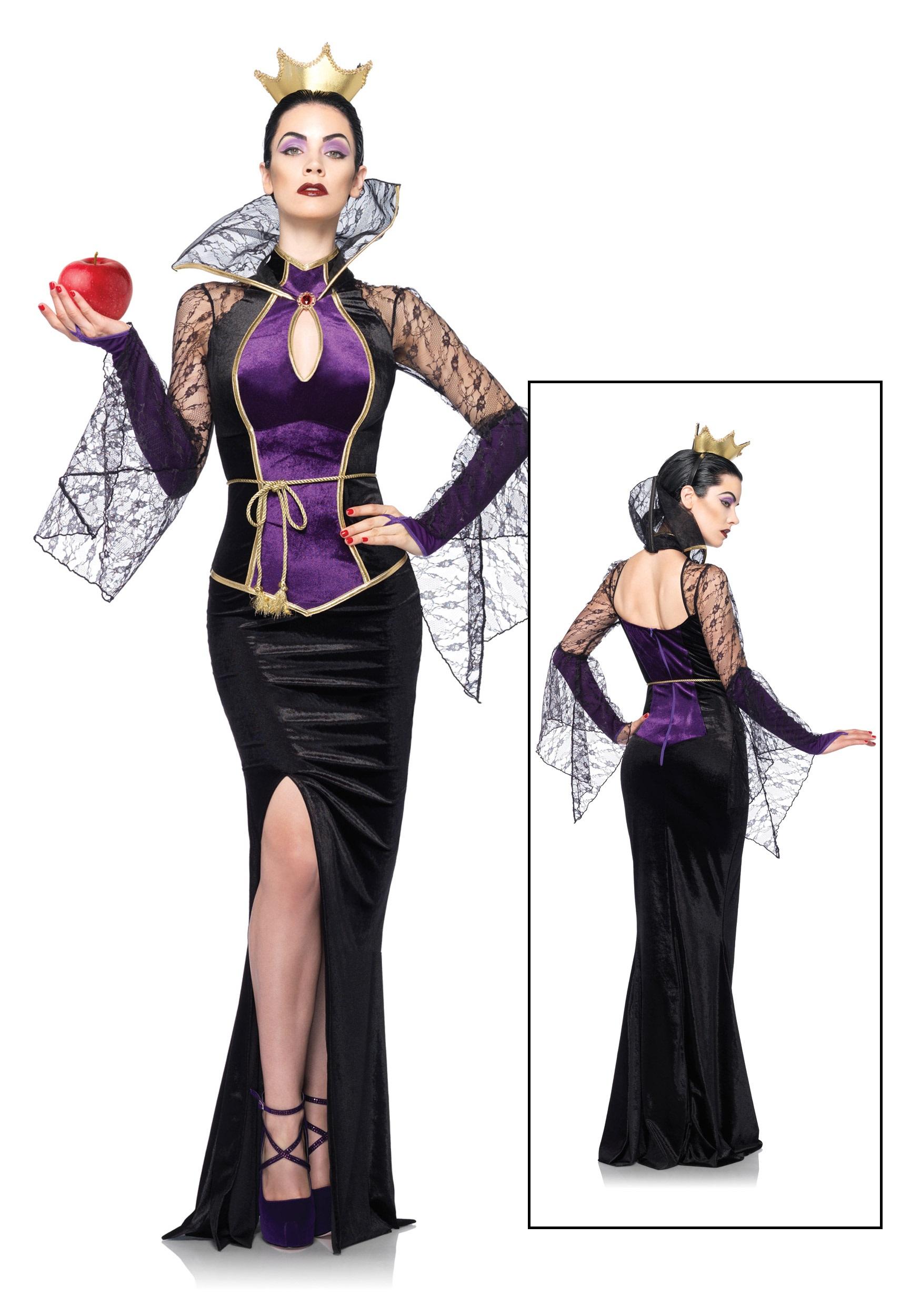 Womens Disney Evil Queen Costume  sc 1 st  Halloween Costumes & Womens Disney Evil Queen Costume - Halloween Costumes