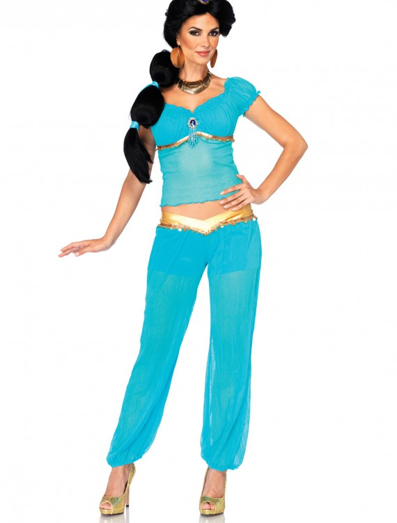 Womens Disney Jasmine Costume, halloween costume (Womens Disney Jasmine Costume)