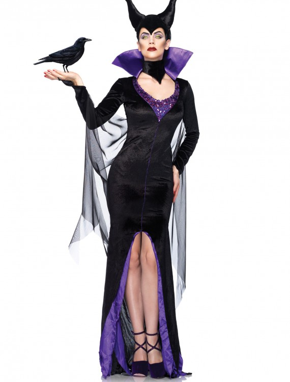 Womens Disney Maleficent Costume, halloween costume (Womens Disney Maleficent Costume)