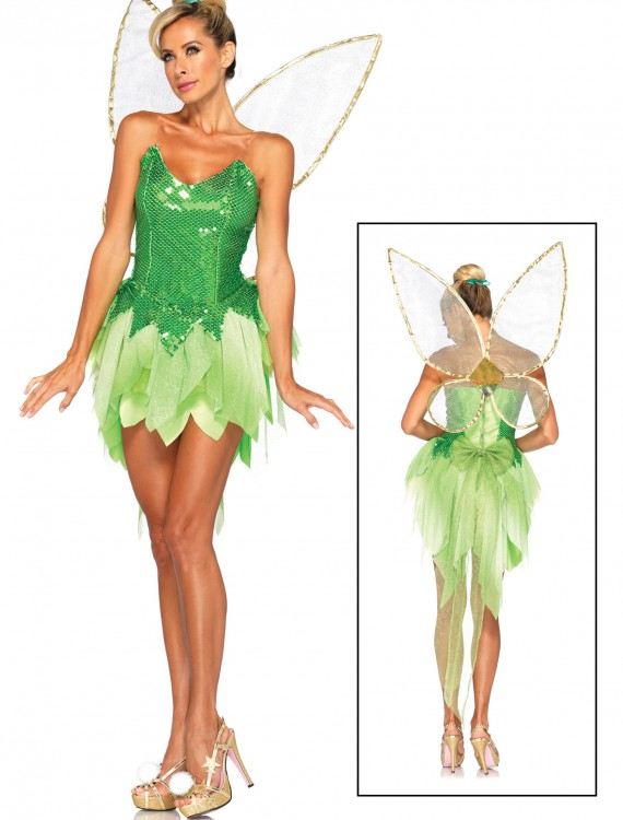 Womens Disney Pixie Dust Tink Costume, halloween costume (Womens Disney Pixie Dust Tink Costume)