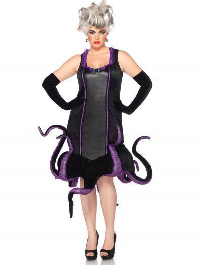 Womens Disney Plus Ursula Costume, halloween costume (Womens Disney Plus Ursula Costume)