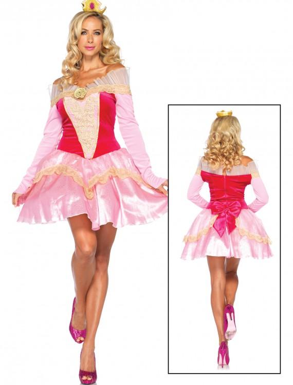 Womens Disney Princess Aurora Costume, halloween costume (Womens Disney Princess Aurora Costume)