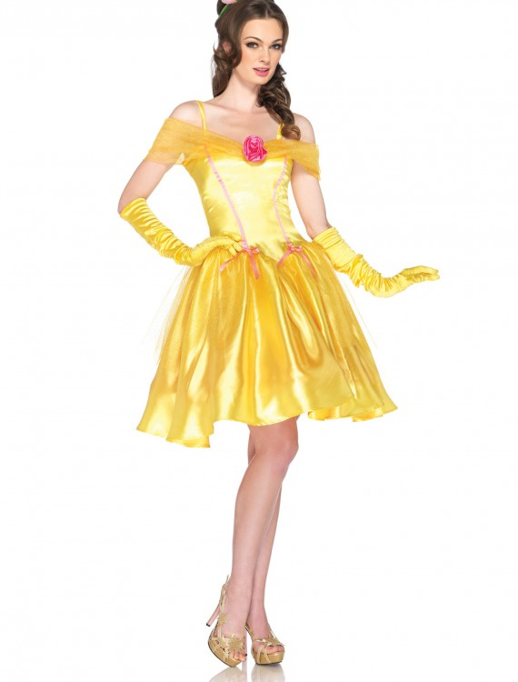 Women's Disney Princess Belle Costume, halloween costume (Women's Disney Princess Belle Costume)