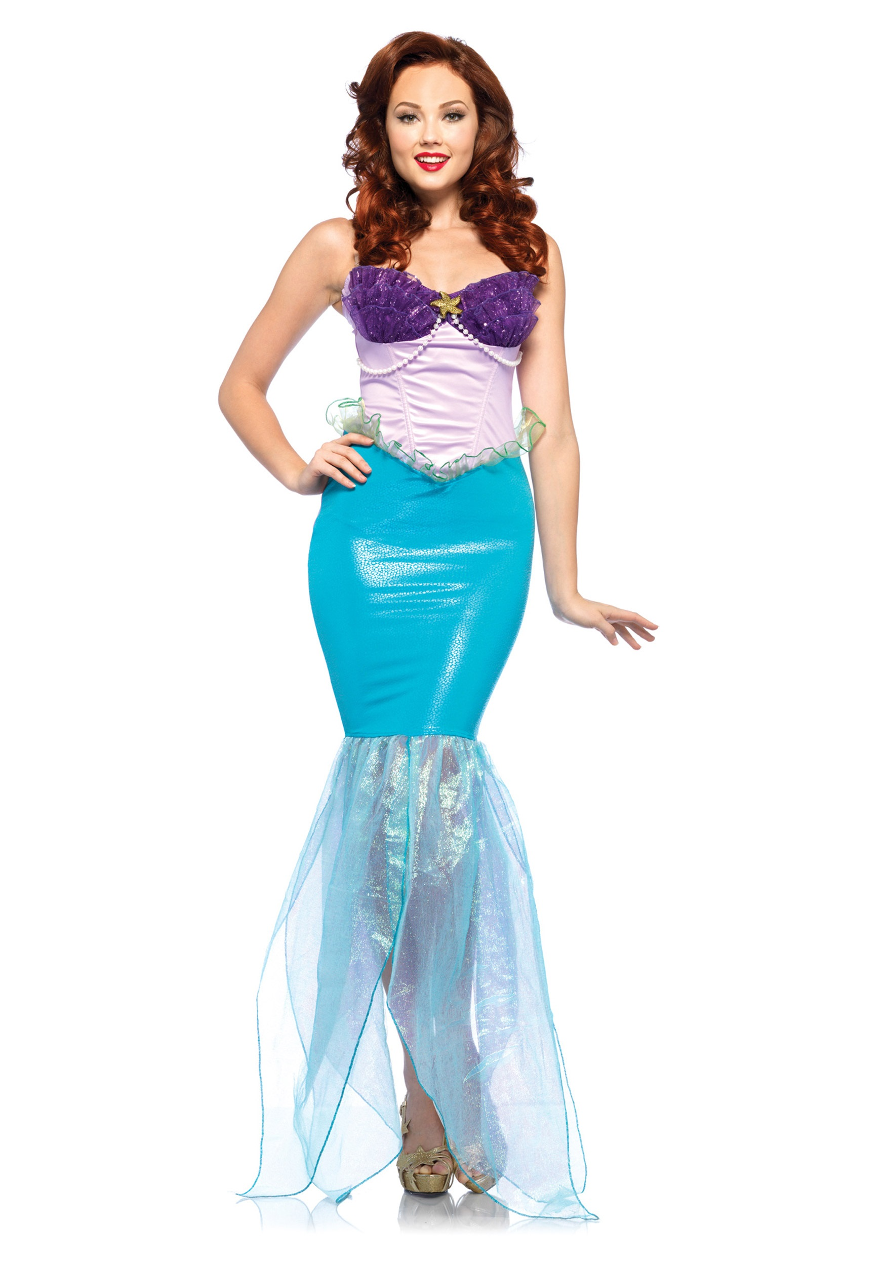 Womens Disney Undersea Ariel Costume  sc 1 st  Halloween Costumes & Womens Disney Undersea Ariel Costume - Halloween Costumes