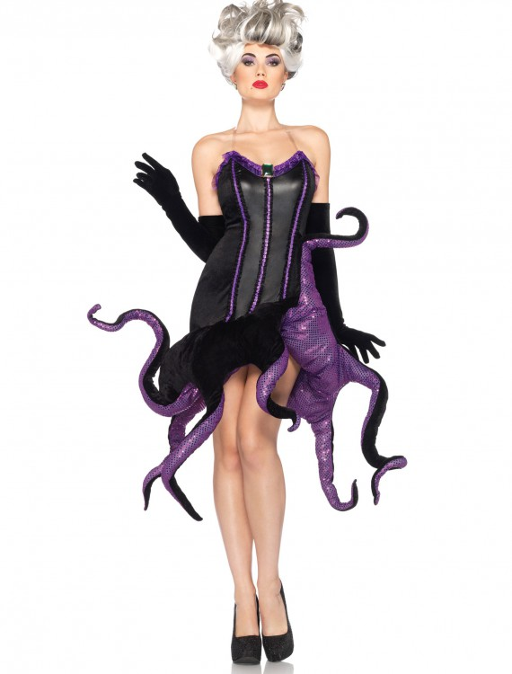 Womens Disney Ursula Costume, halloween costume (Womens Disney Ursula Costume)