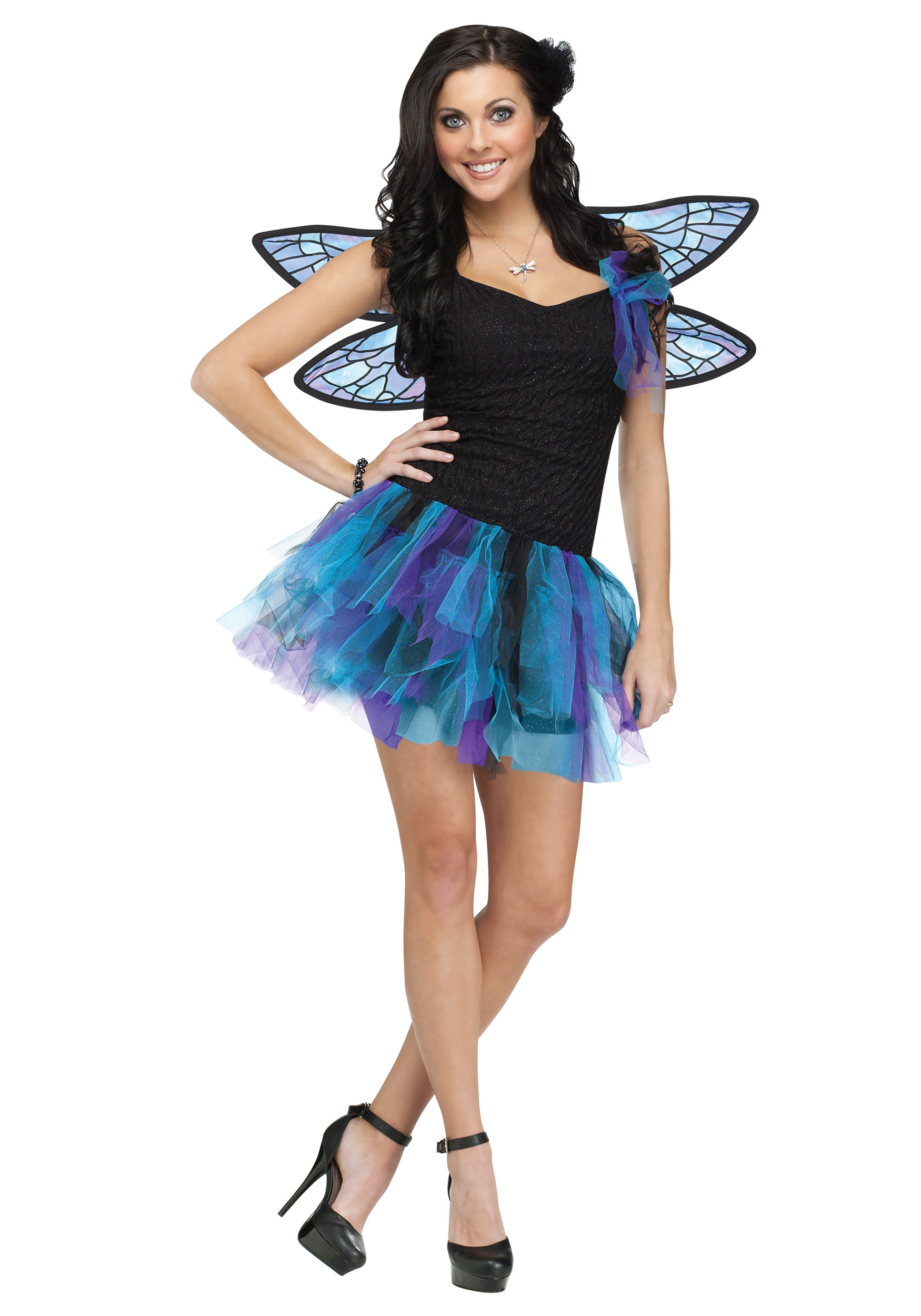 Womens Dragon Fly Fairy Costume  sc 1 st  Halloween Costumes & Womens Dragon Fly Fairy Costume - Halloween Costumes