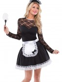 Womens Exotic French Maid Costume, halloween costume (Womens Exotic French Maid Costume)