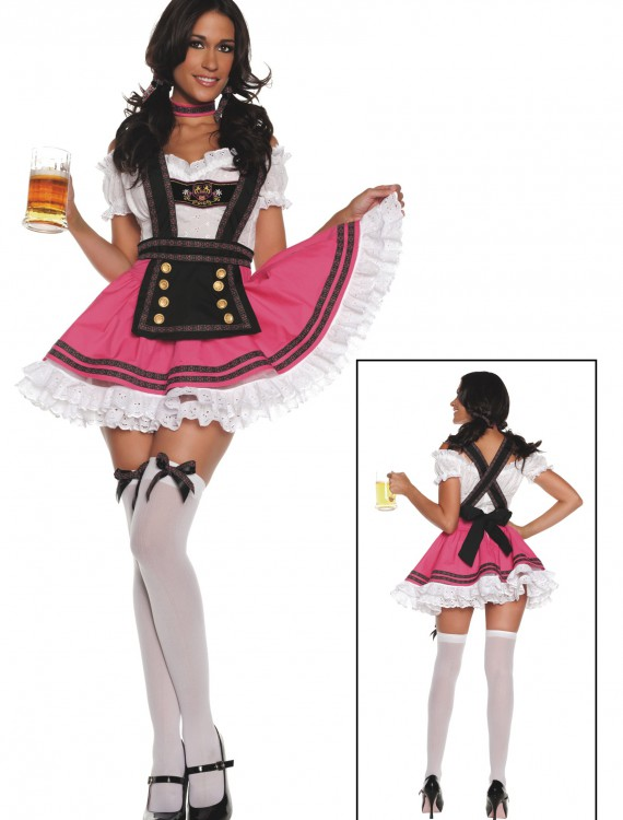 Women's Fancy Beer Girl Costume, halloween costume (Women's Fancy Beer Girl Costume)