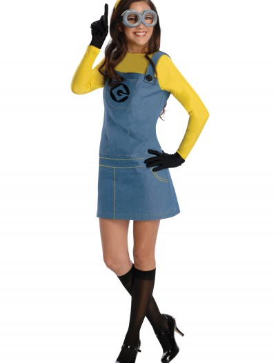 Women's Female Minion Costume, halloween costume (Women's Female Minion Costume)