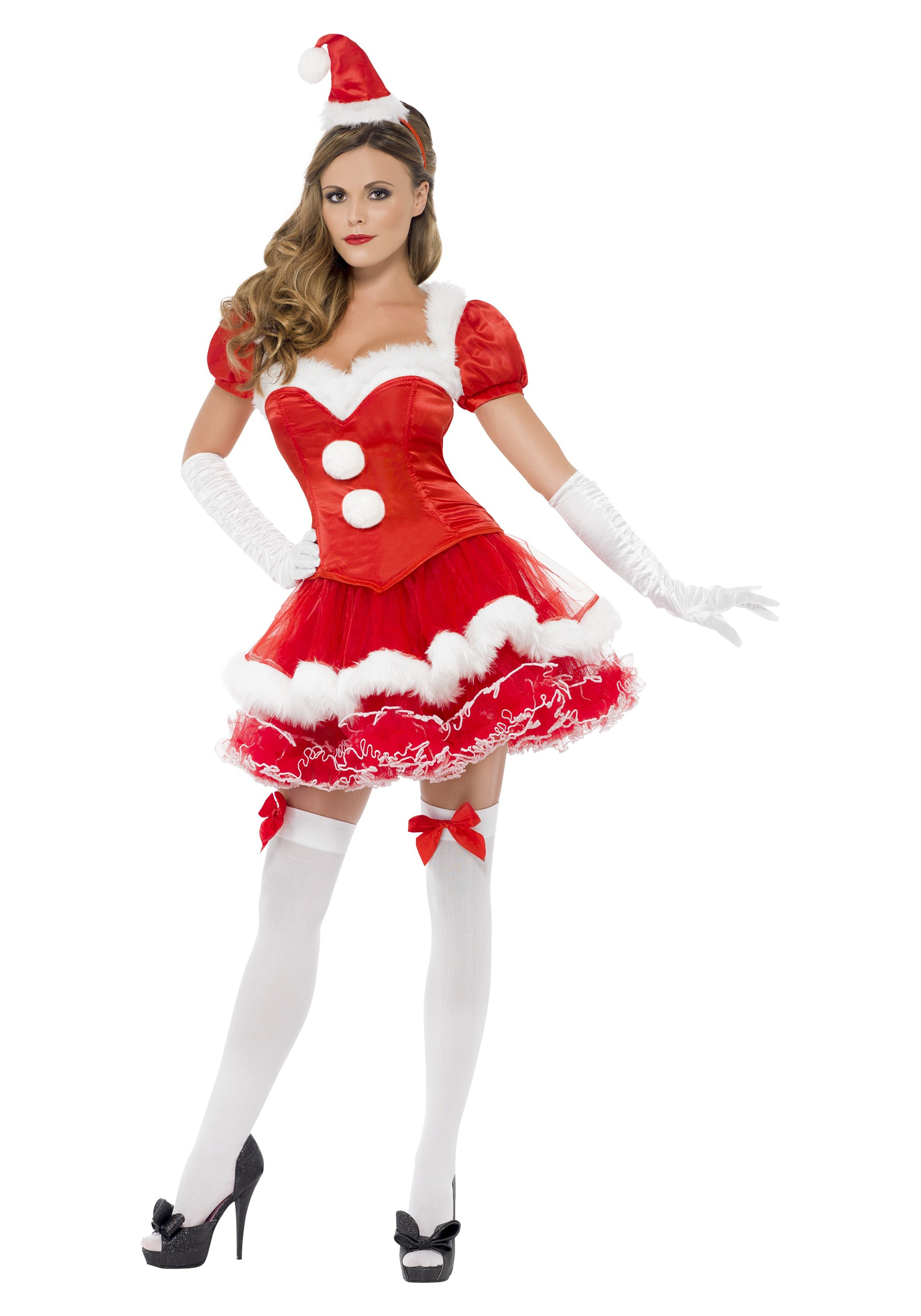 womens fever santa costume