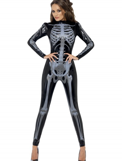 Womens Fever Skeleton Costume, halloween costume (Womens Fever Skeleton Costume)