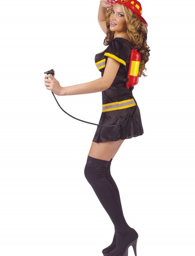 Womens Fireman Costume, halloween costume (Womens Fireman Costume)