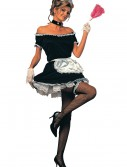 Women's French Maid Costume, halloween costume (Women's French Maid Costume)