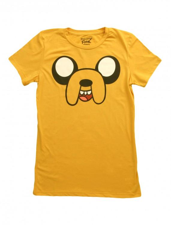 Womens Full Face Jake Costume T-Shirt, halloween costume (Womens Full Face Jake Costume T-Shirt)