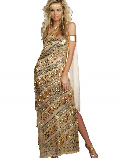 Women's Golden Goddess Costume, halloween costume (Women's Golden Goddess Costume)