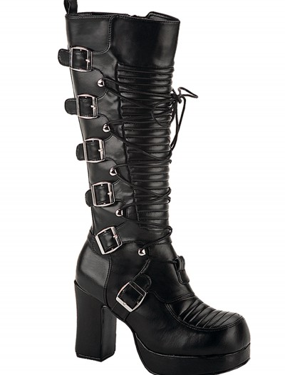 Women's Goth Boots, halloween costume (Women's Goth Boots)