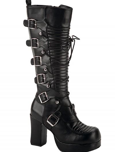 Women's Goth Boots, halloween costume (Women's Goth Boots)
