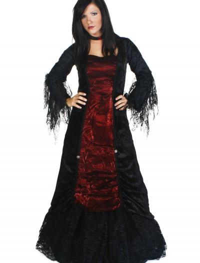 Women's Gothic Vampire Costume, halloween costume (Women's Gothic Vampire Costume)