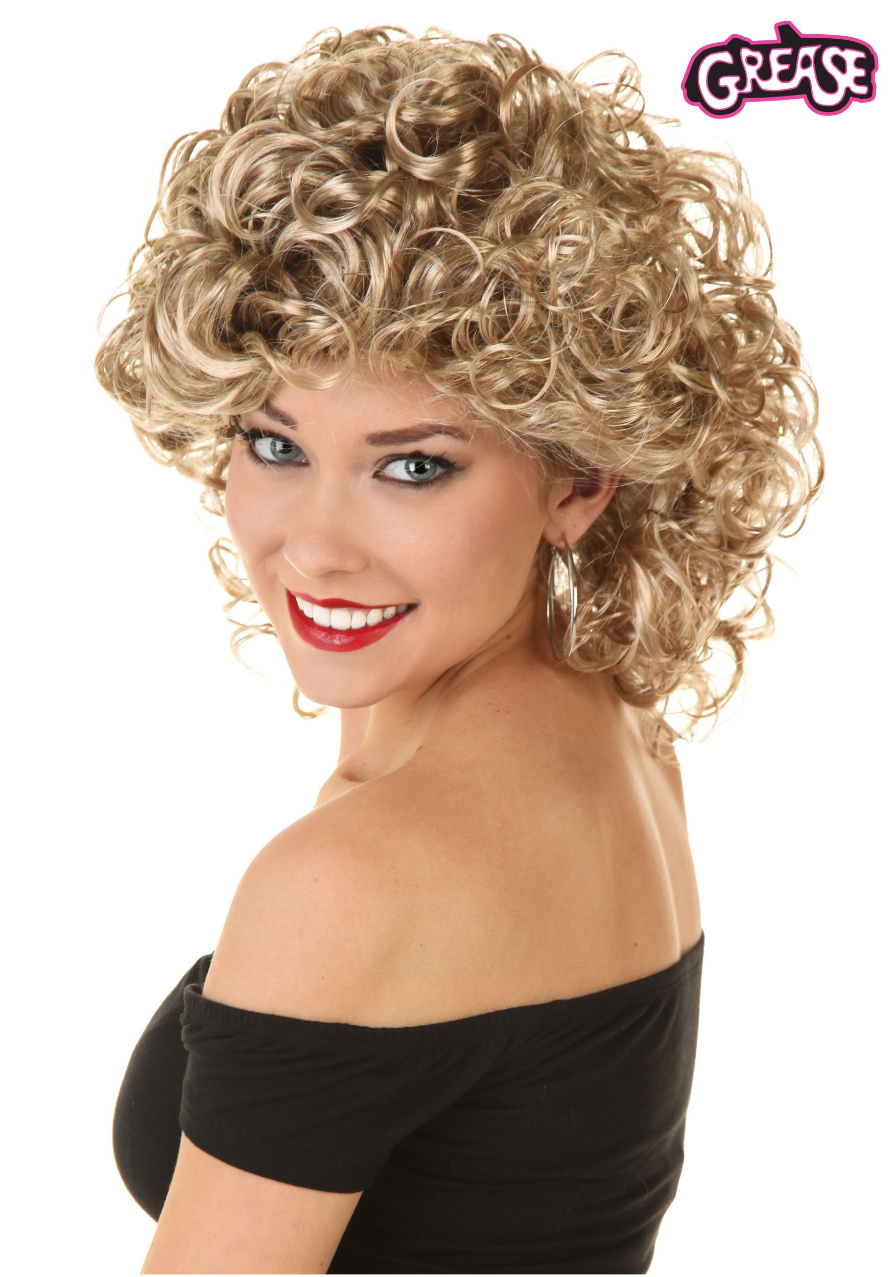 womens grease bad sandy wig