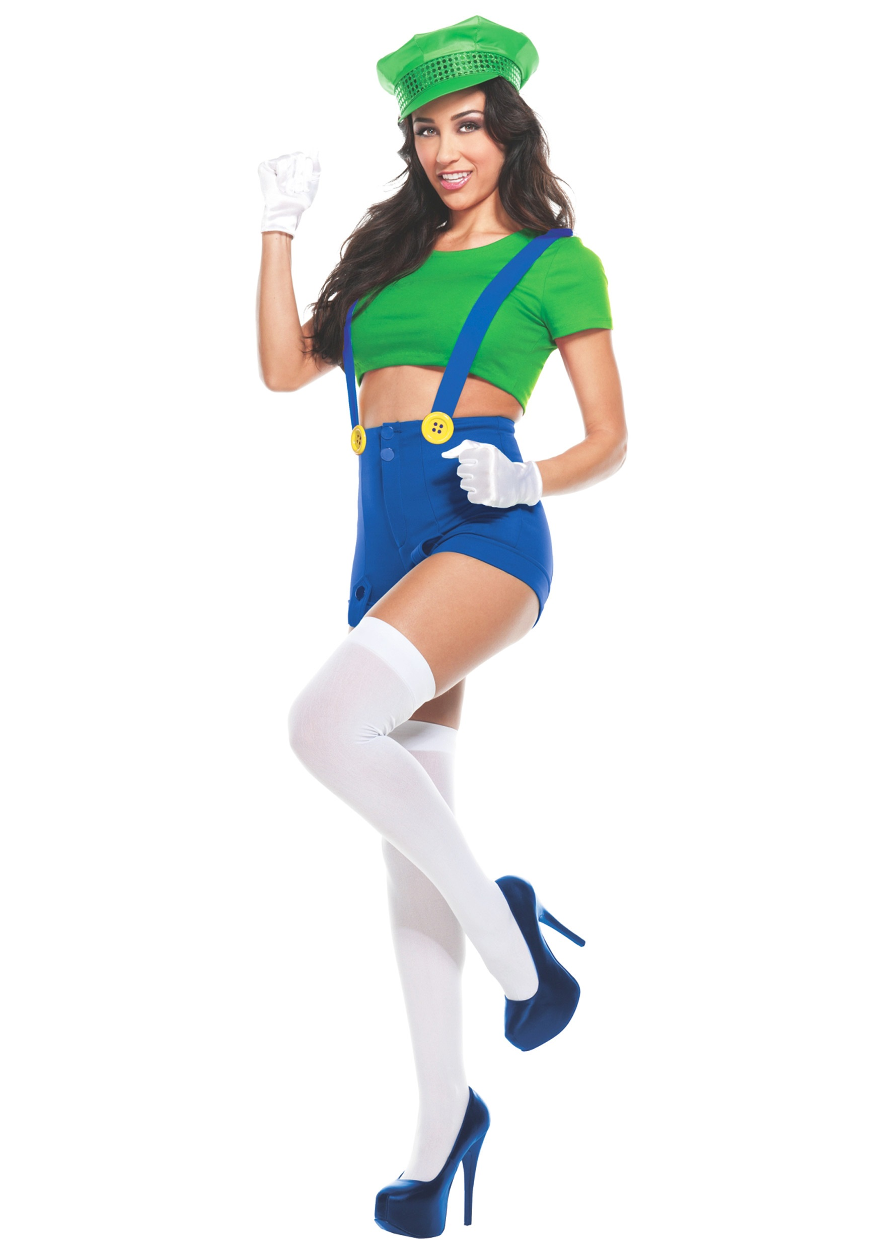 Womens Green Player Costume  sc 1 st  Halloween Costumes & Womens Green Player Costume - Halloween Costumes