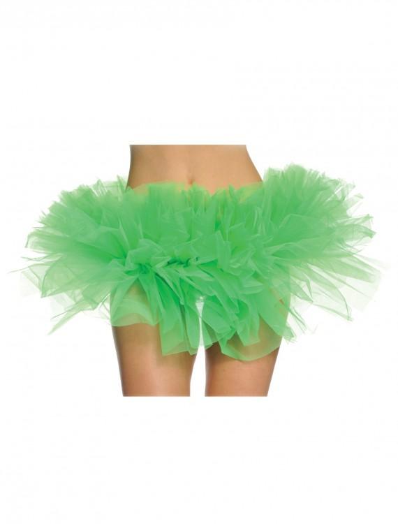 Women's Green Tutu, halloween costume (Women's Green Tutu)