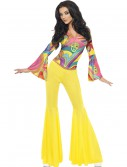 Women's Groovy Gal Costume, halloween costume (Women's Groovy Gal Costume)