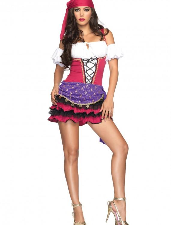 Women's Gypsy Costume, halloween costume (Women's Gypsy Costume)